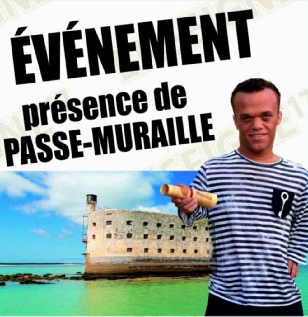 Présence de PASSE-MURAILLE